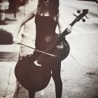 cello by blue_ocean